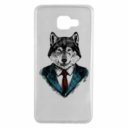 Чехол для Samsung A7 2016 Wolf in costume