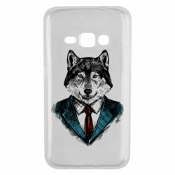 Чехол для Samsung J1 2016 Wolf in costume