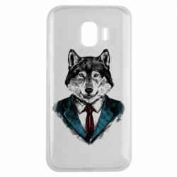 Чехол для Samsung J2 2018 Wolf in costume