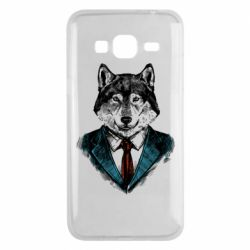 Чехол для Samsung J3 2016 Wolf in costume