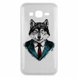 Чехол для Samsung J5 2015 Wolf in costume