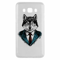 Чехол для Samsung J5 2016 Wolf in costume