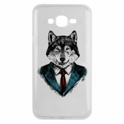 Чехол для Samsung J7 2015 Wolf in costume