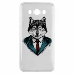Чехол для Samsung J7 2016 Wolf in costume