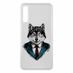 Чехол для Samsung A7 2018 Wolf in costume