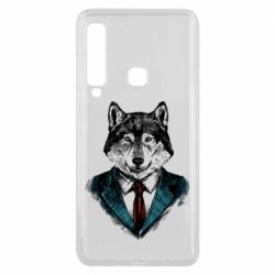 Чехол для Samsung A9 2018 Wolf in costume