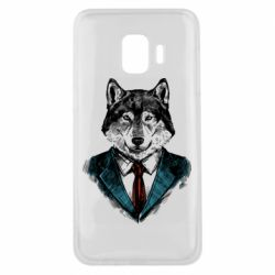 Чехол для Samsung J2 Core Wolf in costume