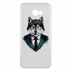 Чехол для Samsung J4 Plus 2018 Wolf in costume