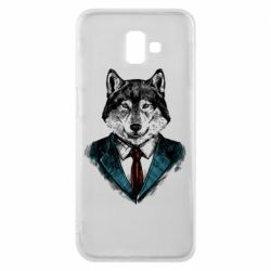 Чехол для Samsung J6 Plus 2018 Wolf in costume
