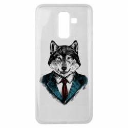 Чехол для Samsung J8 2018 Wolf in costume