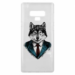 Чехол для Samsung Note 9 Wolf in costume