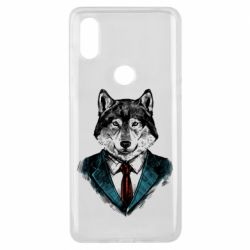 Чехол для Xiaomi Mi Mix 3 Wolf in costume
