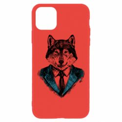 Чехол для iPhone 11 Wolf in costume