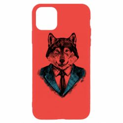 Чехол для iPhone 11 Pro Wolf in costume