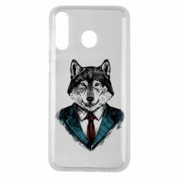 Чехол для Samsung M30 Wolf in costume