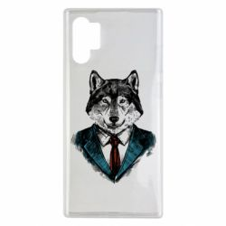 Чехол для Samsung Note 10 Plus Wolf in costume