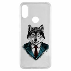 Чехол для Xiaomi Redmi Note 7 Wolf in costume