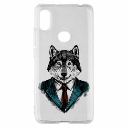 Чехол для Xiaomi Redmi S2 Wolf in costume