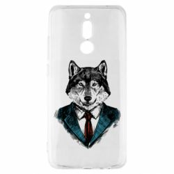 Чехол для Xiaomi Redmi 8 Wolf in costume
