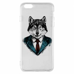 Чехол для iPhone 6 Plus/6S Plus Wolf in costume
