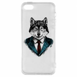 Чехол для iPhone5/5S/SE Wolf in costume