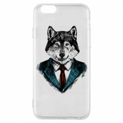 Чехол для iPhone 6/6S Wolf in costume
