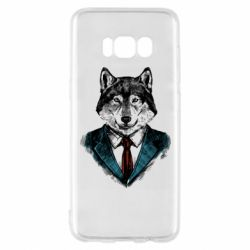 Чехол для Samsung S8 Wolf in costume