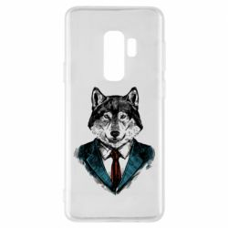Чехол для Samsung S9+ Wolf in costume