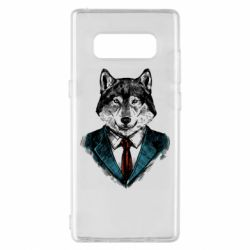 Чехол для Samsung Note 8 Wolf in costume