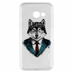 Чехол для Samsung A3 2017 Wolf in costume