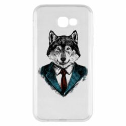 Чехол для Samsung A7 2017 Wolf in costume