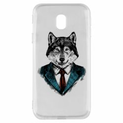 Чехол для Samsung J3 2017 Wolf in costume