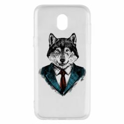 Чехол для Samsung J5 2017 Wolf in costume