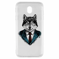 Чехол для Samsung J7 2017 Wolf in costume