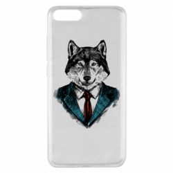 Чехол для Xiaomi Mi Note 3 Wolf in costume