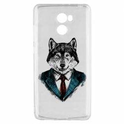 Чехол для Xiaomi Redmi 4 Wolf in costume