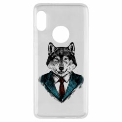 Чехол для Xiaomi Redmi Note 5 Wolf in costume