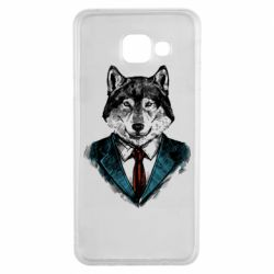 Чехол для Samsung A3 2016 Wolf in costume