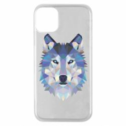 Чехол для iPhone 11 Pro Wolf is a vector
