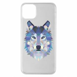 Чехол для iPhone 11 Pro Max Wolf is a vector