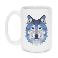 Кружка 420ml Wolf is a vector