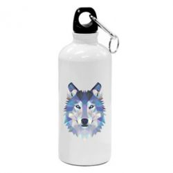 Фляга Wolf is a vector
