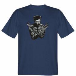 Мужская футболка Logan Wolverine vector
