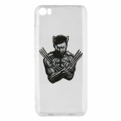 Чехол для Xiaomi Mi5/Mi5 Pro Logan Wolverine vector