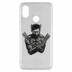Чехол для Xiaomi Mi8 Logan Wolverine vector