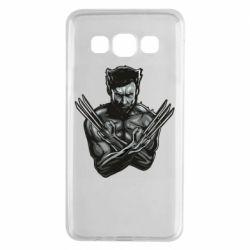 Чехол для Samsung A3 2015 Logan Wolverine vector