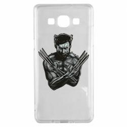 Чехол для Samsung A5 2015 Logan Wolverine vector