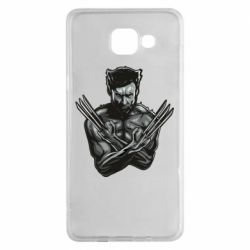 Чехол для Samsung A5 2016 Logan Wolverine vector