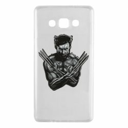 Чехол для Samsung A7 2015 Logan Wolverine vector