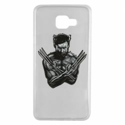 Чехол для Samsung A7 2016 Logan Wolverine vector